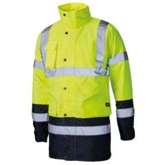 Dickies Hi Vis Two Tone Parka Jacket - SA7004