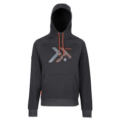Men's Tactical Disruptive Overhead Workwear Hoodie – Seal Grey (TRF635) front