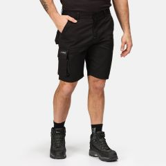 Regatta Men's Heroic Cargo Shorts – Black (TRJ388 800)