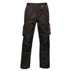 Regatta Men's Heroic Worker Trousers – Black (TRJ366R 800) front