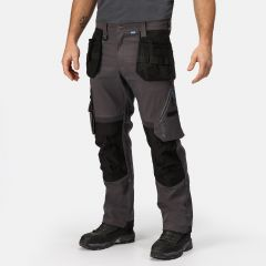 Regatta Men's Execute Holster Premium Work Trousers – Iron (TRJ367R 7NV)