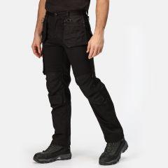 Regatta Men's Incursion Workwear Work Trousers – Black
