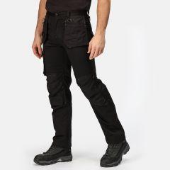 Regatta Men's Incursion Workwear Work Trousers – Black (TRJ387R 800)