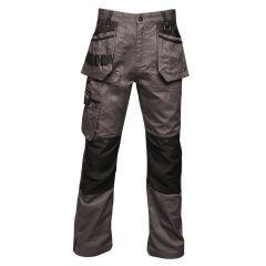 Regatta Men's Incursion Work Trousers – Iron (TRJ387R 7NV)