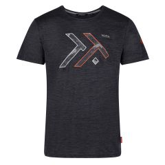 Regatta Men's Dread T-Shirt – Seal Grey Marl (TRS183 4ZQ) front