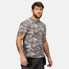 Regatta Men's Dense Camouflage T-Shirt – Rock Grey Marl