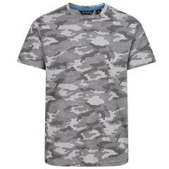 Regatta Men's Dense Camouflage T-Shirt – Rock Grey Marl (TRS184 95J) front