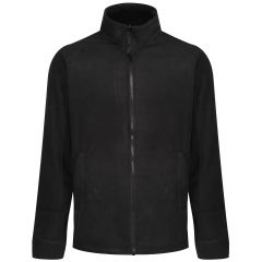 Regatta Men's Thor III Full Zip Fleece – Black (TRF532 800) front