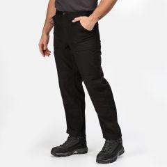 Regatta Men's Action Worker Trousers – Black (TRJ330R 800)
