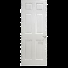 """Textured Moulded Internal Door - 6 Panel 6'6"""""""