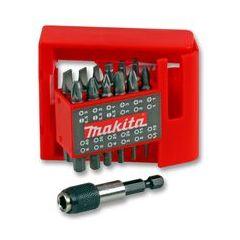 Makita 25 Piece 25mm Screwdriver Bit Set With Magnetic Holder P-49965