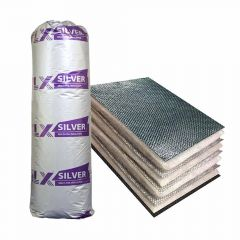 TLX Silver Multi-Foil Insulation 12m2 Roll