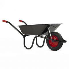 Haemmerlin 9004 Camden Classic Wheelbarrow W/ Pneumatic Tyre Black 85L