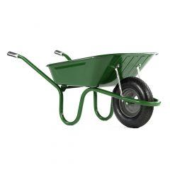 Haemmerlin 1041 Original Wheelbarrow with Pneumatic Tyre Green 90L