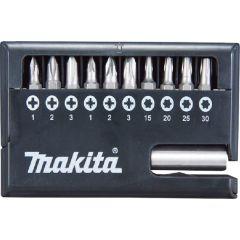 Makita 11 Piece Screwdriver Bit Set - D30651