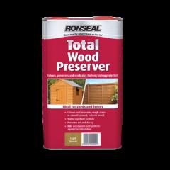 Ronseal Total Wood Preserver 2.5L Dark Brown