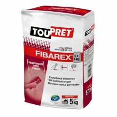 Toupret Fibarex Exterior Repair Filler 5X1kg - FIBA051GB