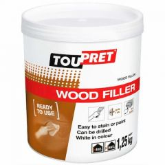 Toupret Wood Filler Ready Mixed 1.25kg - RPBO1.25GB