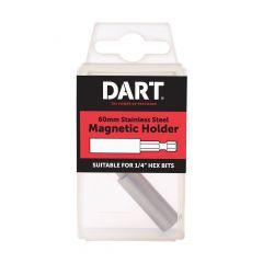 Dart Stainless Steel 60mm Magnetic Bit Holder DSSBH-1