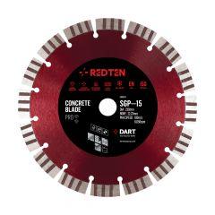 Dart Red Ten Pro SGP-15 Concrete Diamond Saw Blade D230mm x B22.23mm – DB00332
