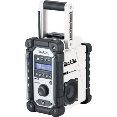 Makita DAB Job Site Radio White - DMR109W