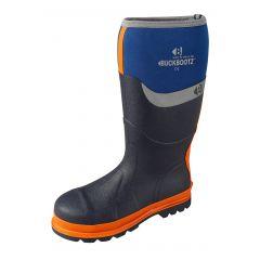 Buckler Buckbootz Safety Wellington Boots Blue BBZ6000BL