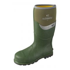 Buckler Buckbootz Safety Wellington Boots (Green) BBZ600GR