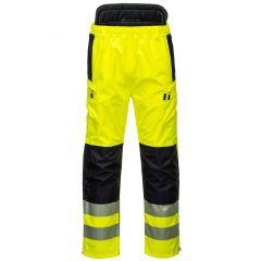 TPPW037P-1-Portwest Hi-Vis-Trousers-Yellow/Black