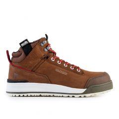 Scruffs Switchback Safety Nubuck Hiker Boots (Brown)