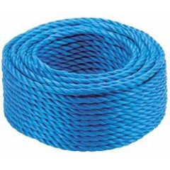 Blue Poly Rope 6mm x 30m Coil - BR630C