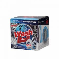 Wash Ball - Limescale Protection for Washing Machines, Dishwashers and Toilet Tanks
