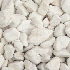 LRS Poly Bag White Pebbles 20-40mm