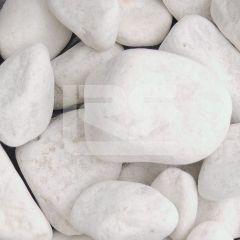 LRS Poly Bag White Cobbles 40-90mm