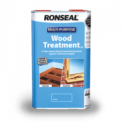 Ronseal Multi Purpose Wood Treatment 5L Clear 37648