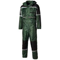 Dickies Waterproof Padded Overall Green S - WP15000