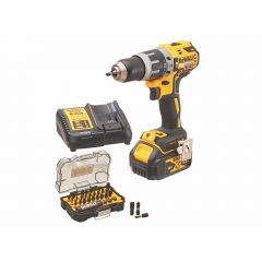 TXMS181-1-DeWalt-18V-Brushless-Combi Drill-Accessories-Set-DCD796-XR