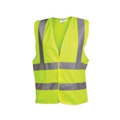 OX Yellow Hi Visibility Vest Medium