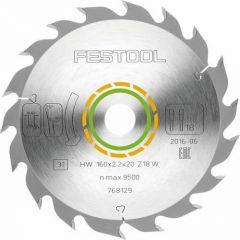 Festool Standard Saw Blade 160x2,2x20 W18 - 768129