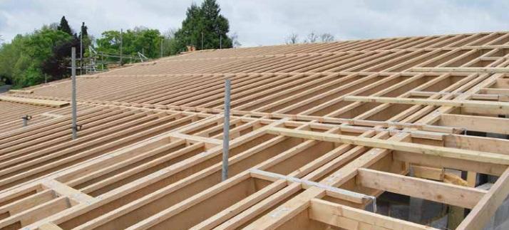 STEICOjoist engineered timber roof joists