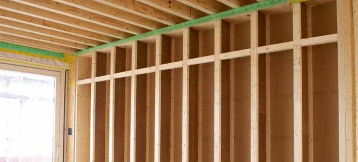 STEICOwall engineered wood joist for stud walls