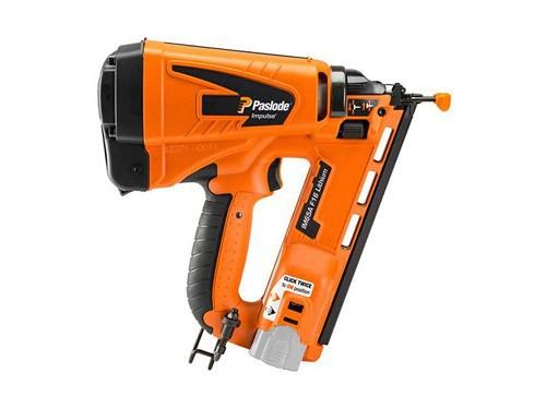 Paslode IM65A Angled Brad Nail Gun Kit