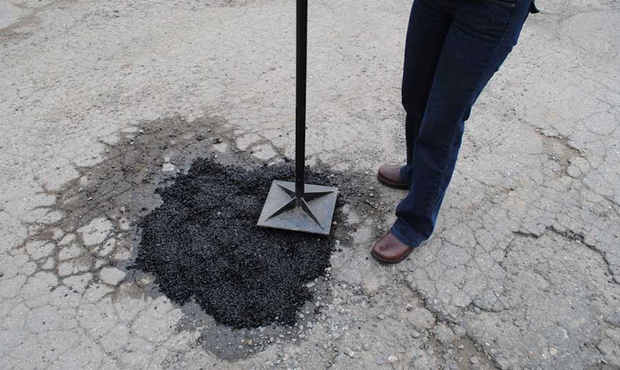 How To Patch Driveway Holes