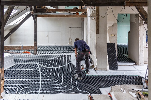 Under Floor Heating Will Keep You Warmer This Winter